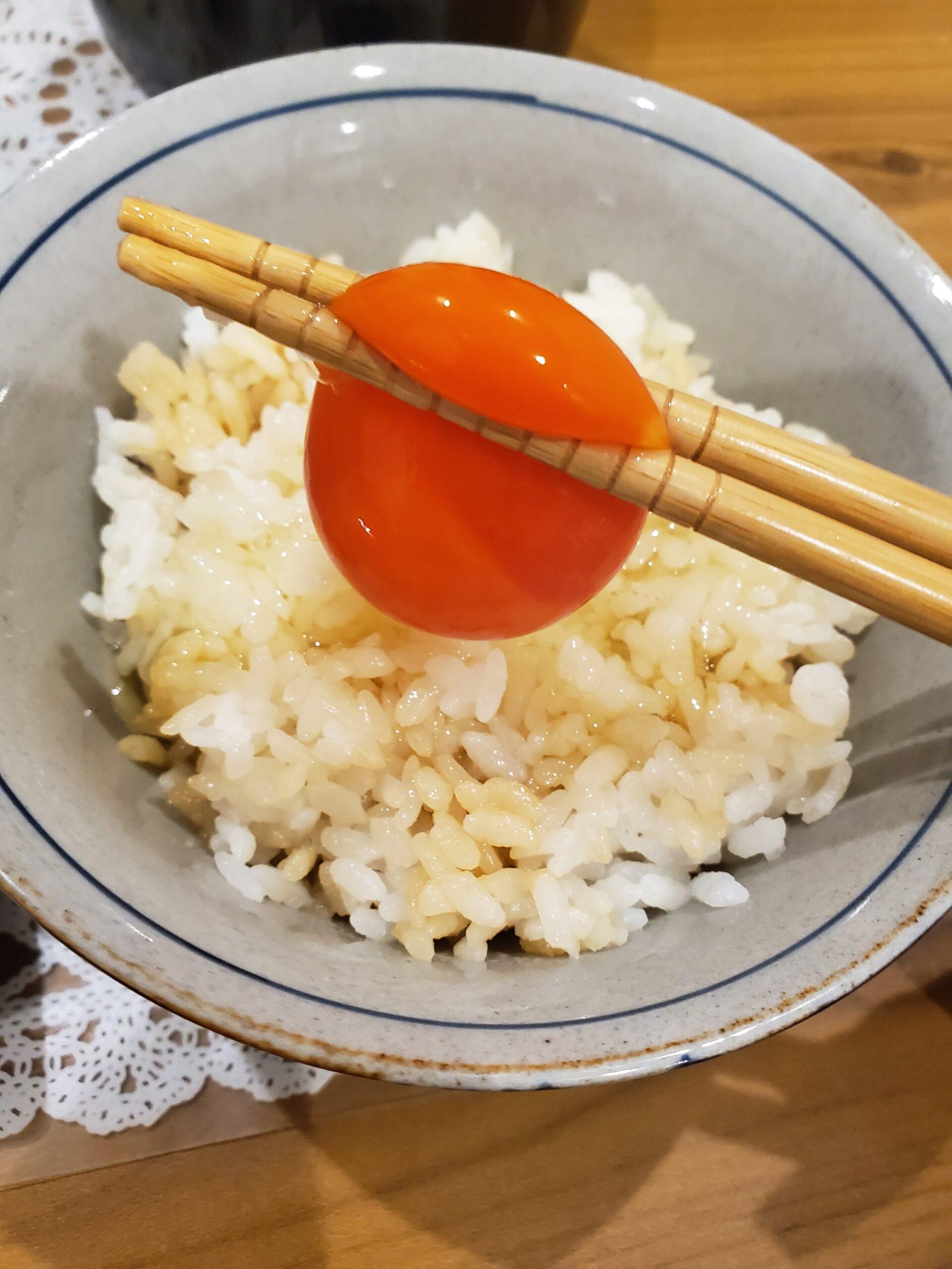 アローカナ卵かけご飯
